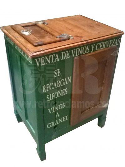 Nevera vintage MILLAN Neveras de Hielo