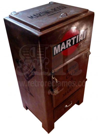 Nevera vintage MARTINI Neveras de Hielo